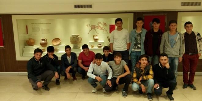 Çorum Semerkand Liseli Gençlik Alacahöyük Müzesi'nde
